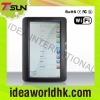 7inch touch and wifi ebook reader with linux 2.6