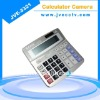 8GB 640*480 mini dvr;micro camera;calculator with camera JVE-3321
