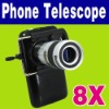 8X Zoom Optical lens Mobile cell Phone camera Telescope