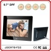 9.7 inch ABS /Light Sensor Sharp Digital Photo Frame