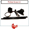 95% aluminium alloy CNC machined follow focus kit for dslr camera