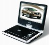 9Inch Portable DVD Player With USB , Card Reader and Copy Function