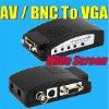 AV/BNC to VGA video converter-wide screen