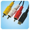 AV Cable for Panasonic Lumix DMC ZS3 ZS1 ZS6 ZS7
