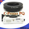 Adapter ring C-PQ C mount adapter to Pentax camera
