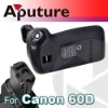 Aputure high quality DSLR Battery grip for 60D
