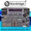 BANDRIDGE Digital Karaoke Amplifier DA-2200 for professional karaoke system