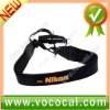 Black New Neoprene Shoulder Strap For Nikon Camera