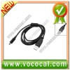 Black USB 2.0 Data Cable For Minolta Digital Camera
