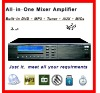 Built In DVD/USB/Tuner/Aux - Multisources Multizones Mixer Amplifier