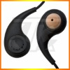 Canal-earphone for two way radio ,earhook earphones (E01)