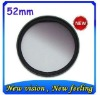 Circular Gradual filter 52mm Gradual grey filter for Canon 400D