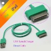 Colorful USB Data Sync Charger Cable For Apple iPad iPhone iPod
