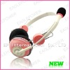 Colorful headphone with mic