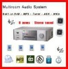 Compact Hifi Stereo Amplifier SH-360 Multi-Room Audio System Integrated Home Music System
