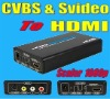 Composite video to hdmi scaler 1080p