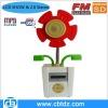 Cute Gift flower mini HIFI stereo speaker with USB SD FM