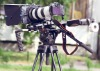 DSLR Kit-11 Shoulder Rig follow focus mattebox bundle for T2i 7d