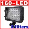 DV Camcorder Lighting 160-LED Video Light