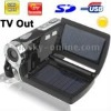 DV008 , 2.8 inch 12 Mega pixels Solar Energy 8X Zoom DV Digital Video Camera