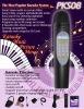 DVD-karaoke player microphone