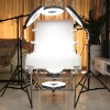 DiVi shadowless phototable 5 ring lights studio