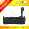 Digital Camera Battery Grip for Canon Eos 7D replacement of BG-E7