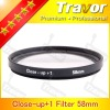 Digital Camera Lens Filter Close-up +1 58mm Glass filter
