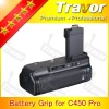 Digital battery grip for Canon Eos 500D/450D/1000D/Rebel Xsi/XS/T1i cameras