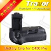 Digital camera battery grip for Canon Eos 500D/450D/1000D/Rebel Xsi/XS/T1i cameras