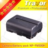 Digital camera battery pack 7.4v 1500mah for sony NP-FM500H