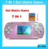 Dot Matrix Game with 7 games