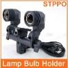 Double Lamp Holder E27 Socket Flash Umbrella Bracket