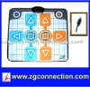 Double dance mat for wii