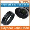 EW-60C Camera Bayonet Lens Hood For Canon