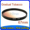 FOR CANON NIKON LENS GRADUATED Color FILTER tobacco