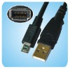 FUJI FZ05282-100 USB Camera Cable D-13 4Ft 14-Pin