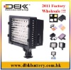 Flashpoint LED On Board Video Light, Power Tap Connector, Shoe Mountable Daylight Color Temperature