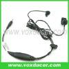 For Cobra cb radio PR350 PR375 finger PTT ear bone vibration earpiece