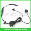For HOFFER 2 way radio finger PTT ear bone vibration earpiece