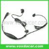 For Icom interphone IC-F4G IC-F4GS finger PTT ear bone vibration earpieces