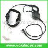 For Kenwood handheld two way radio TK-3107 TK-431 throat microphone headphone