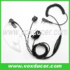 For Kenwood two way radio TK-308 police use clear tube earphone