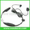For Motorola 2 way radio PRO7550 PRO7750 earphone with bone vibration earbud