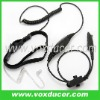 For Motorola cb radio PTX760 PTX780 single sensor soft throat mic