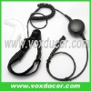 For Motorola handheld radio GP328plus GP388 neckband style single sensor throat vibration earphone