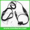 For Motorola transceiver MTX9250 GP360 covert tube throat vibration earphone