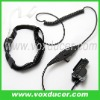For Motorola uhf radio XTS3000 MTS2000 with vox PTT throat vibration headset