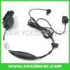 For Motorola walkie talkie MTX8000 MTX9000 earphone with bone vibration ear bud