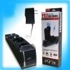 For PS3 MOVE Qual Charger with adapter